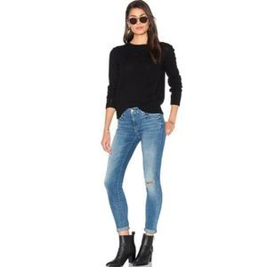 Mother The Looker High Five High Rise Skinny Jeans